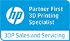 HP Partner First 3D Printing Specialist